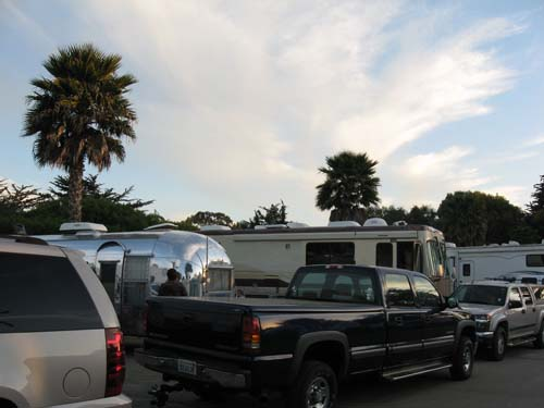 Pismo Beach camp site